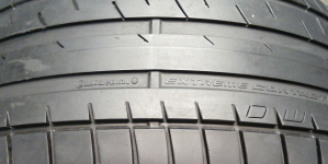The M3 receives Continental ExtremeContact DW Tires