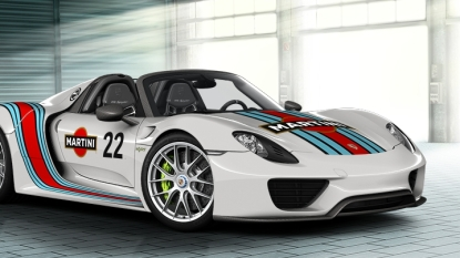 Build your own Porsche 918 Spyder