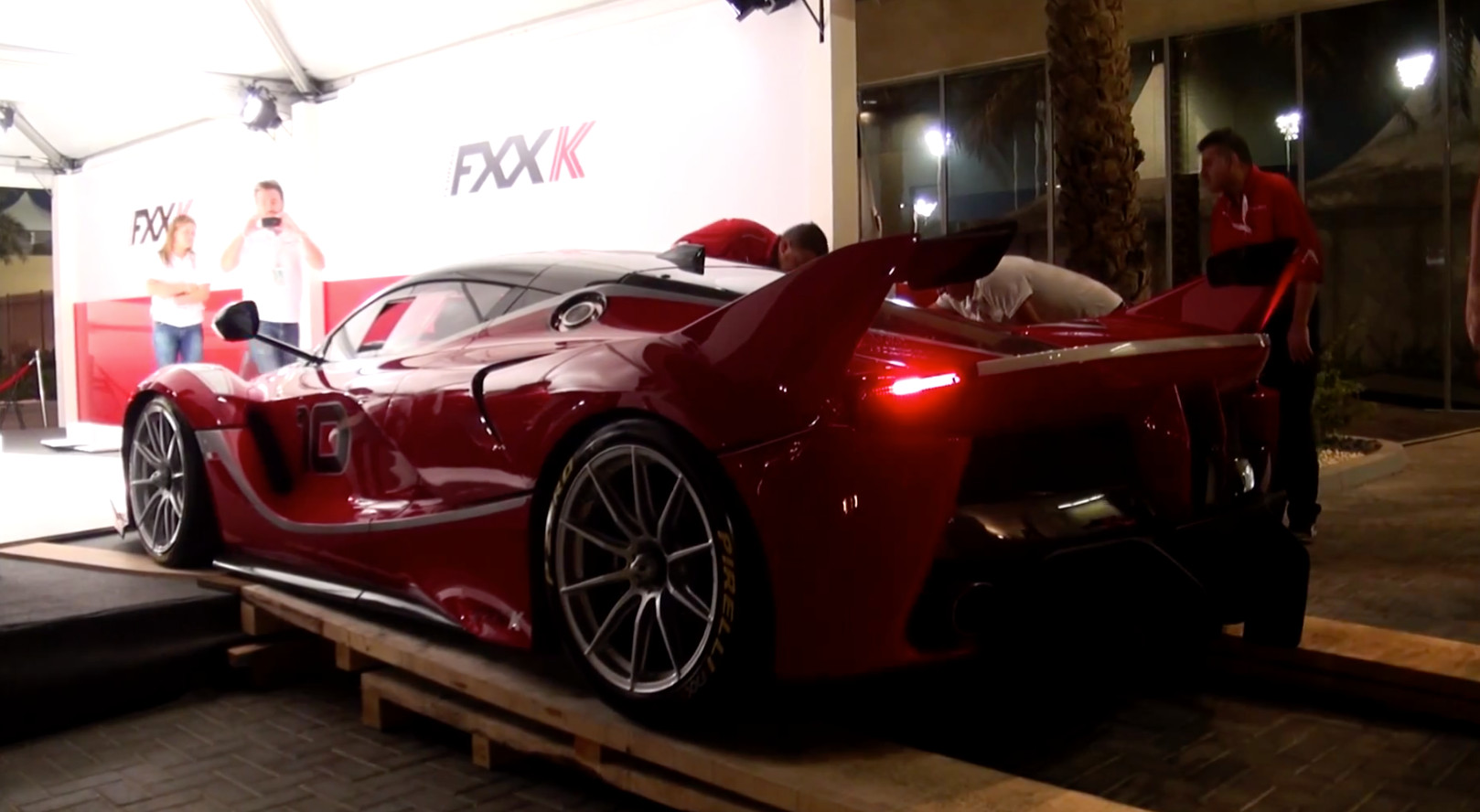 Sights And Sounds Of The Ferrari Fxx K