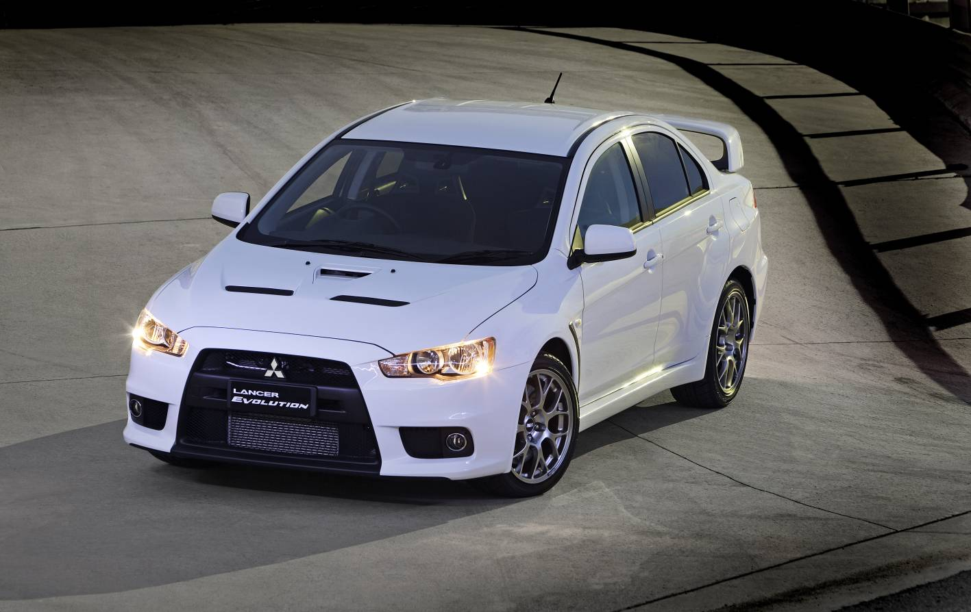 Test Driving The Mitsubishi Evolution X