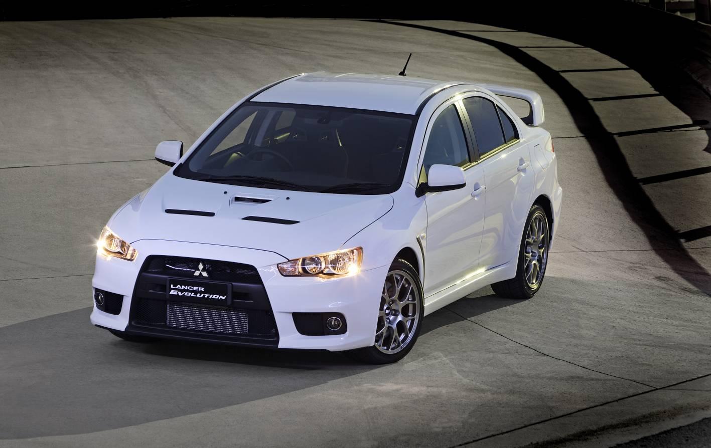 test driving the mitsubishi evolution x