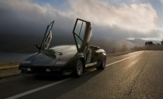 Watch a Lamborghini Countach Drift on Track