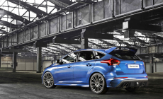 This is the 2016 Ford Focus RS