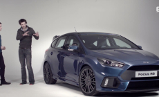 Exhaust Sound of the 2016 Ford Focus RS