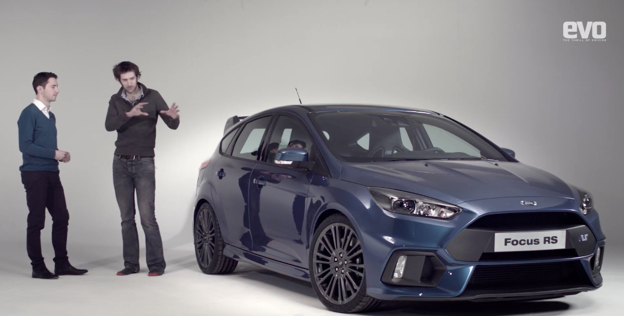 Start Up Sound Of The 2016 Ford Focus Rs