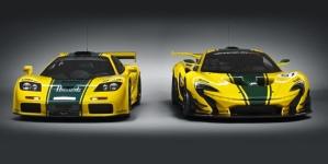 Watch a McLaren P1 GTR and F1 GTR Track Battle