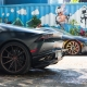 Miami in Matte Black McLaren 650S and Lamborghini Huracan