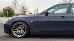 Apex ARC-8 Wheels Fitted to the E60