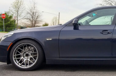 E60 535i with Apex ARC-8 wheels
