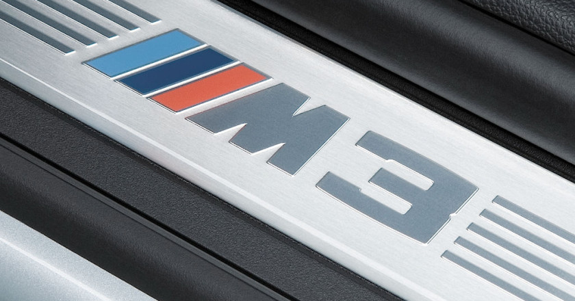 BMW M3 Door Sill Plate