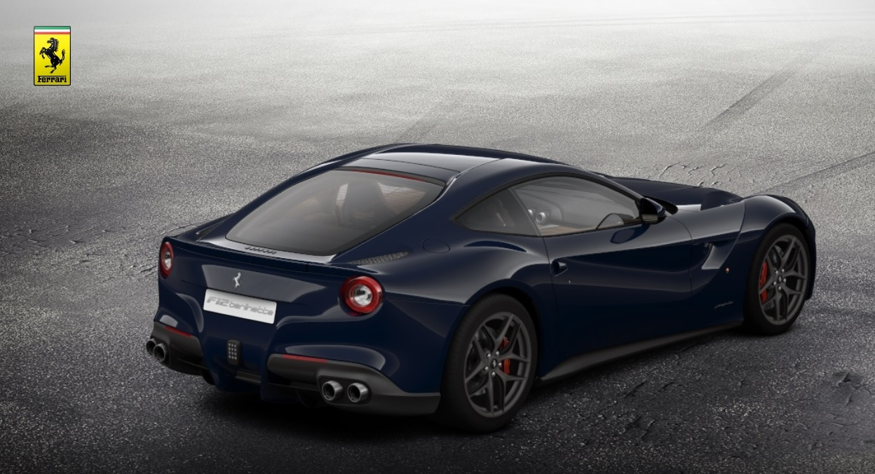Build Your Own Ferrari F12 Berlinetta Right Foot Down