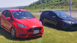 Stock Ford Fiesta ST vs Fully Modified Fiesta ST, Street Comparison
