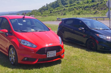 Stock and Modified Ford Fiesta STs