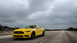 208 MPH in the Hennessey HPE750 Ford Mustang