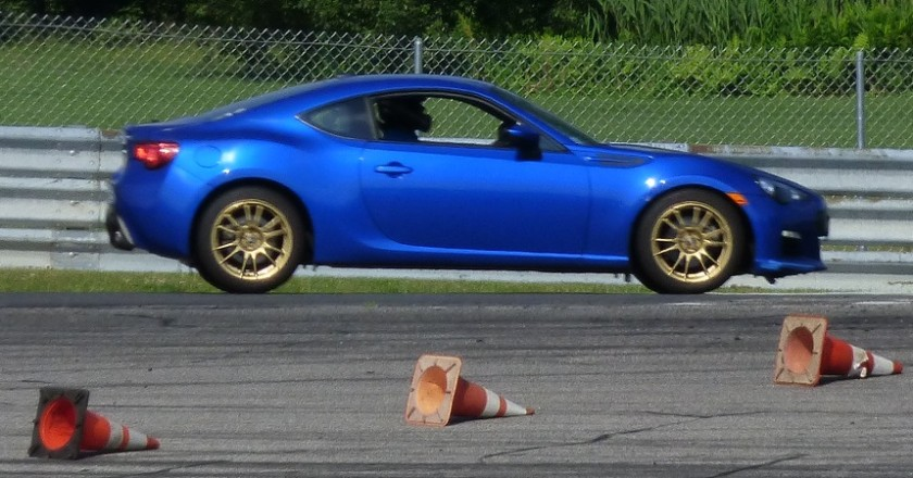 BRZ at Thompson Speedway