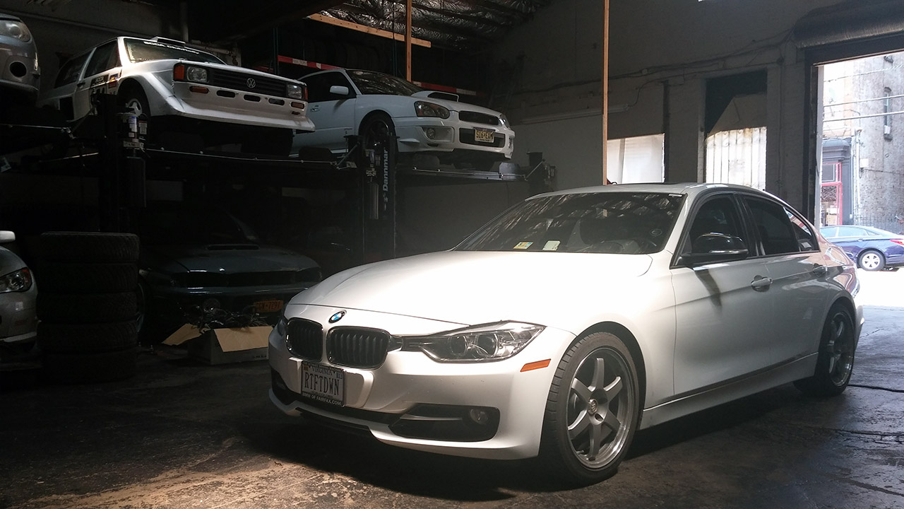 First Mods To The F30 Bmw 328i 6 If We Re Counting