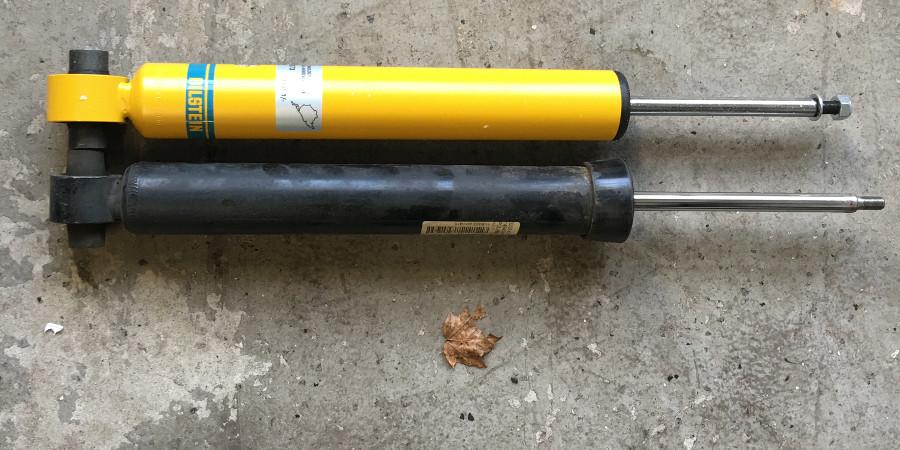 Bilstein B8 Shocks Installed On Bmw F30