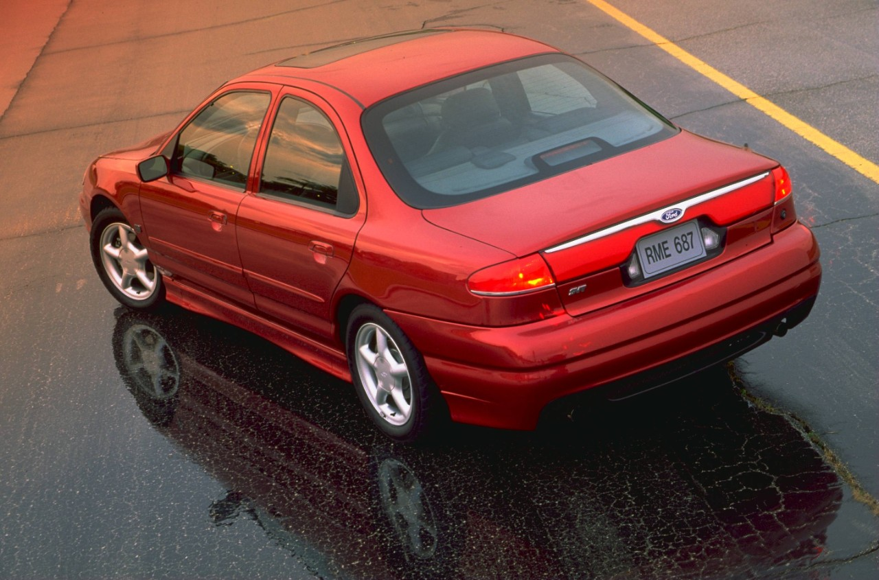 The Contour Svt Is A Sleeper Sedan Right Foot Down