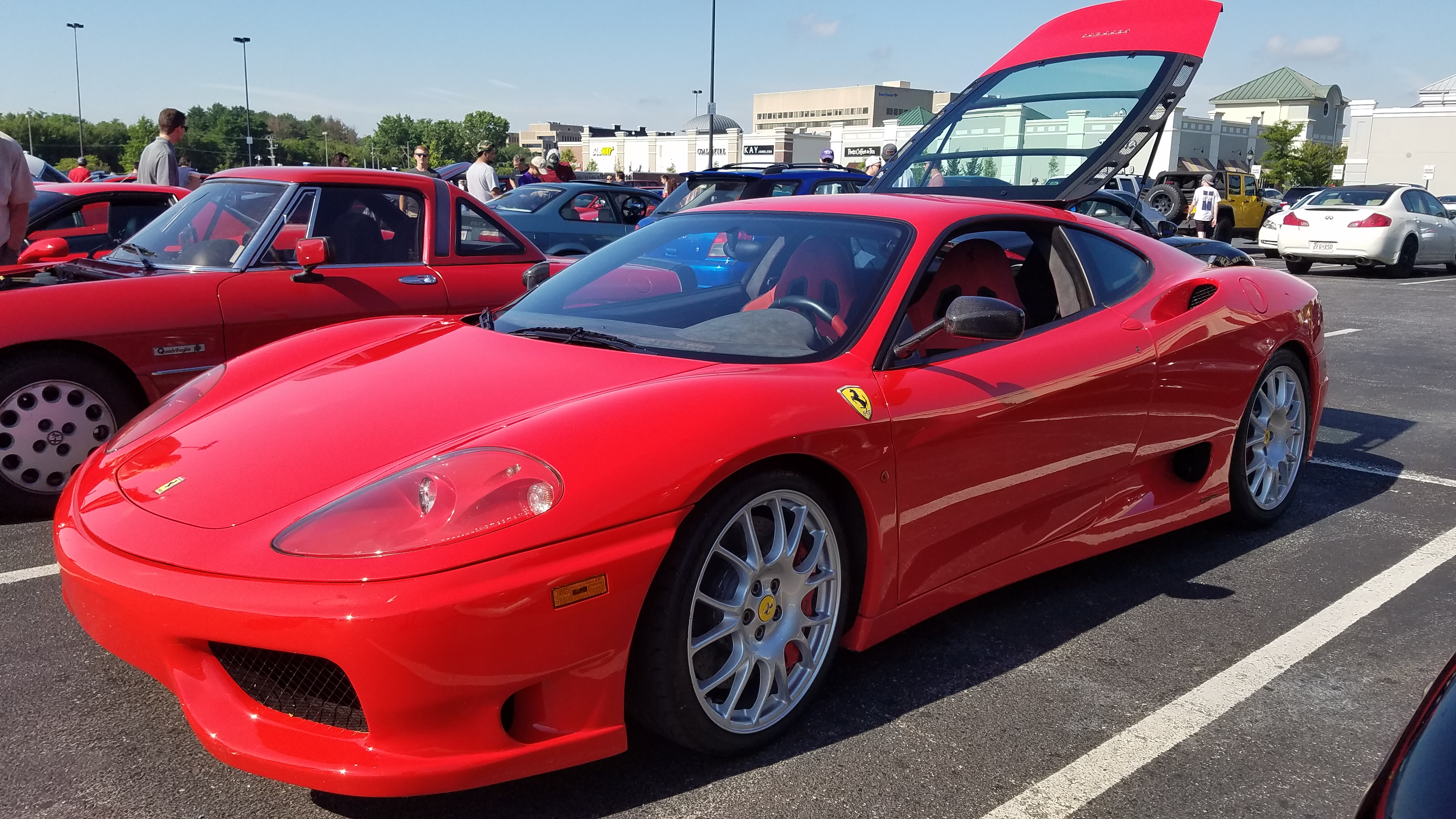 Cccw Ferrari 360 Challenge Stradale Right Foot Down