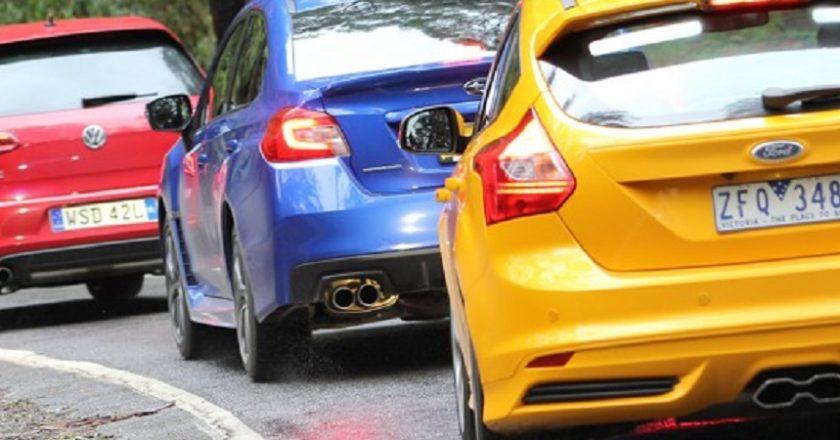 Ford Focus ST, Subaru WRX, VW GTI