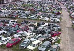 Auto salvage yard