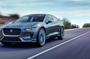 Jaguar I-Pace Concept on Road