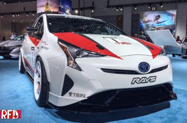Evasive Toyota Prius