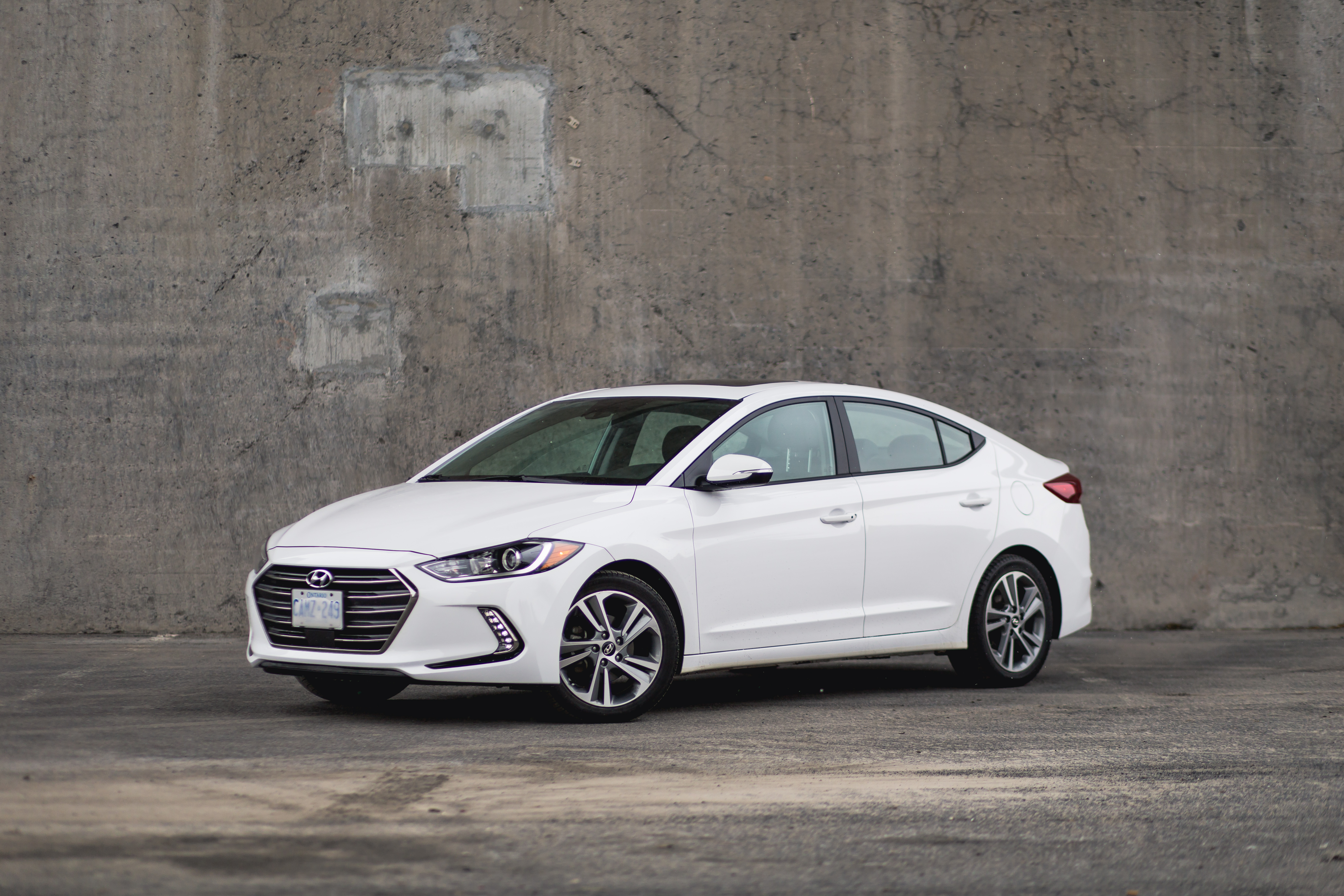 Everyone The Hyundai Elantra Is A Great Little Car Right Foot Down