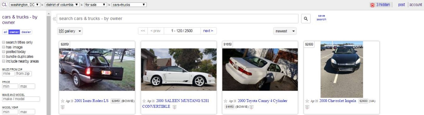 How To Sell Your Car Online: Craigslist Edition - Right Foot Down