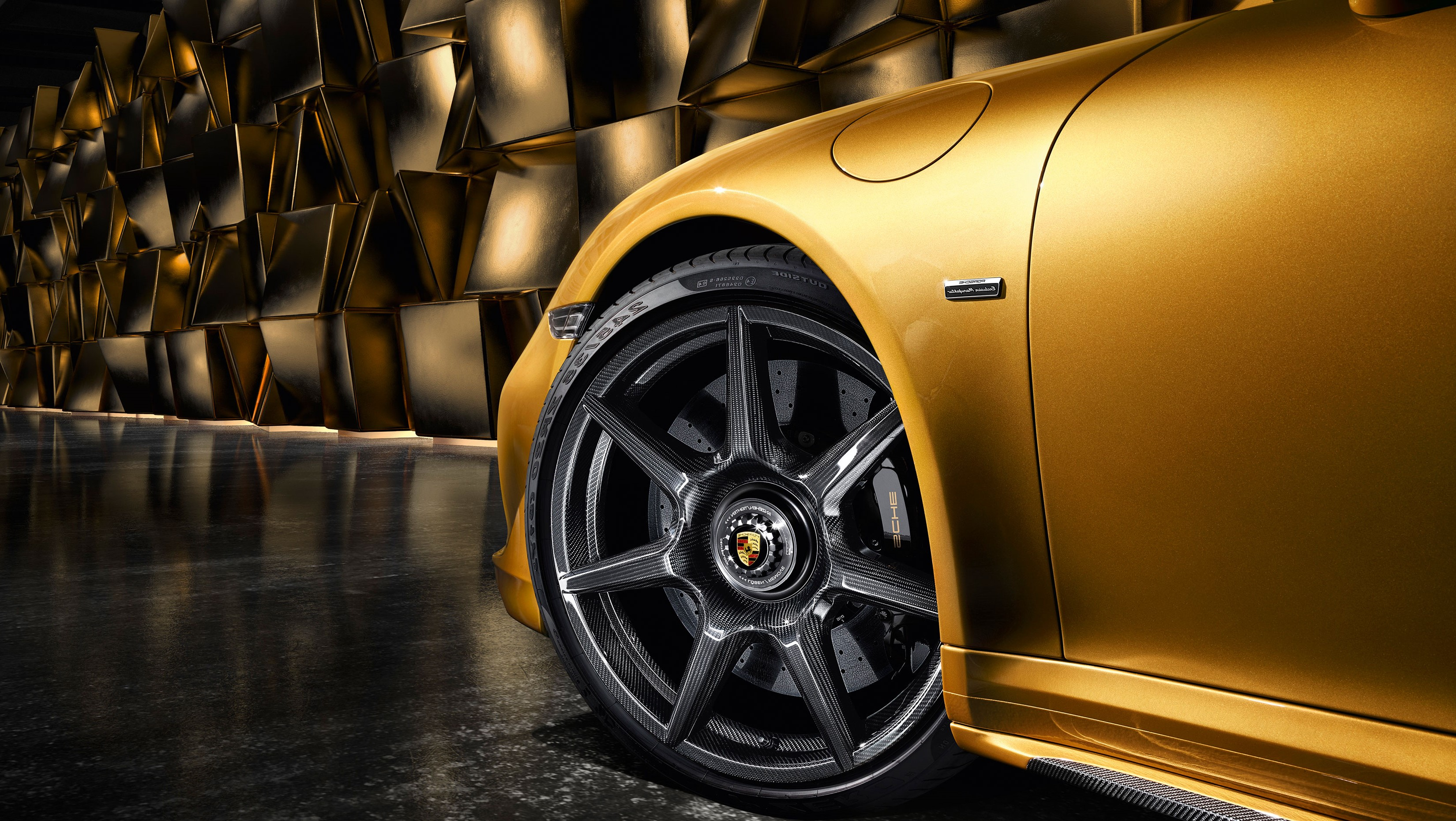porsche announced braided carbon wheels right foot down. Black Bedroom Furniture Sets. Home Design Ideas